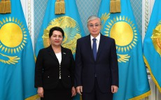 Kazakhstan's President received Tanzila Narbayeva, Chairman of the Senate of the Oliy Majlis of the Republic of Uzbekistan