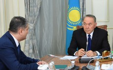 Meeting with the Chairman of the Eurasian Economic Commission Board Tigran Sargsyan