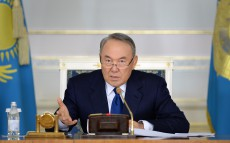 Enlarged Government meeting under the chairmanship of President Nursultan Nazarbayev