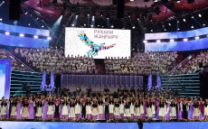 Participation in the gala concert on the 20th anniversary of the Kazakh National University of Arts