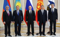 Participation in the Supreme Eurasian Economic Council meeting