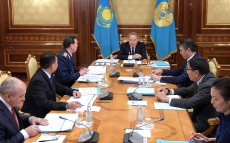 Head of State chairs the meeting on modernization of law enforcement agencies