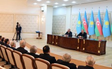 Briefing for the media after the official visit to the Republic of Azerbaijan