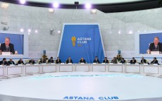 Participation in the 2nd meeting of the Astana Club