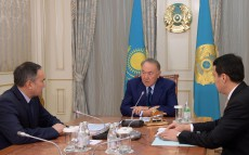 Meeting with Askar Myrzakhmetov, Deputy Prime Minister and Minister of Agriculture
