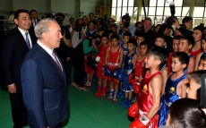 Visit to the Palace of Youth and Schoolchildren