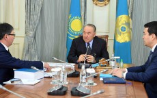Meeting with Yerlan Sagadiev, Minister of Education and Science