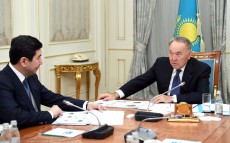 Meeting with Yerlan Koshanov, akim of Karaganda region