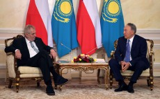 Meeting with Milos Zeman, President of the Czech Republic
