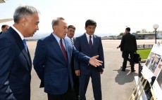 Familiarization with the Almaty International Airport development plan