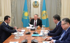 Meeting with Maulen Ashimbaev, First Deputy, Nur Otan Party
