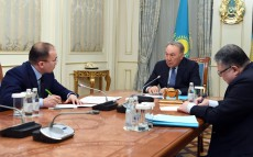 Meeting with Dauren Abayev, Minister of Information and Communications