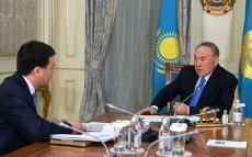 Meeting with Marat Beketaev, Minister of Justice
