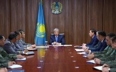 Kassym-Jomart Tokayev meets with the leadership of the State Security Service