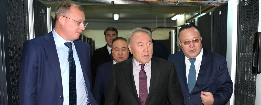 Visit to Kazakhtelecom's data processing centre
